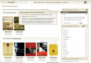 Goodreads: Personalized Recommendations